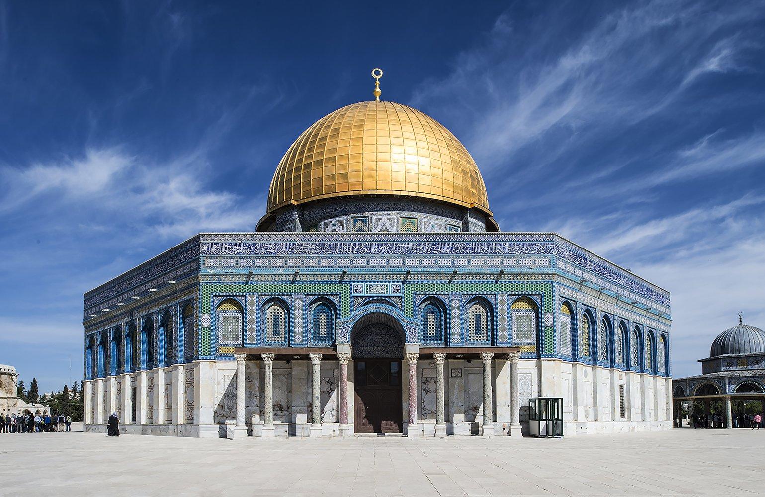 מסגד אל אקצה, יוהנס פלטן צילום