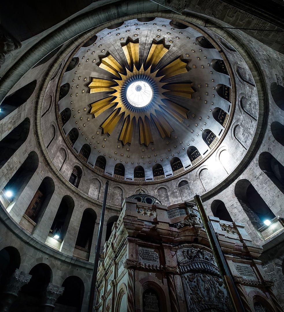 כנסיית הקבר בירושלים - יוהנס פלטן צילום