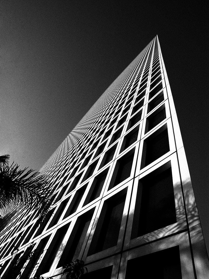 מגדלי עזריאלי, הבניין המשולש, יוהנס פלטן צילום